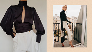 Chic Black-and-white Outfit Ideas That Are Perfect For Your Next Night Out