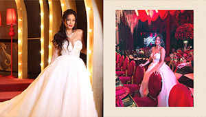 Ylona Garcia Transformed Into A Glamorous Princess For 18th Birthday