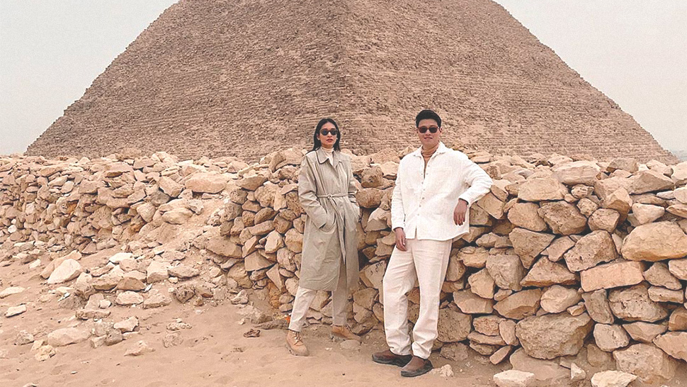 Bea and Eric Dee's Egypt OOTDs Will Inspire You to Plan Your Couple Outfits