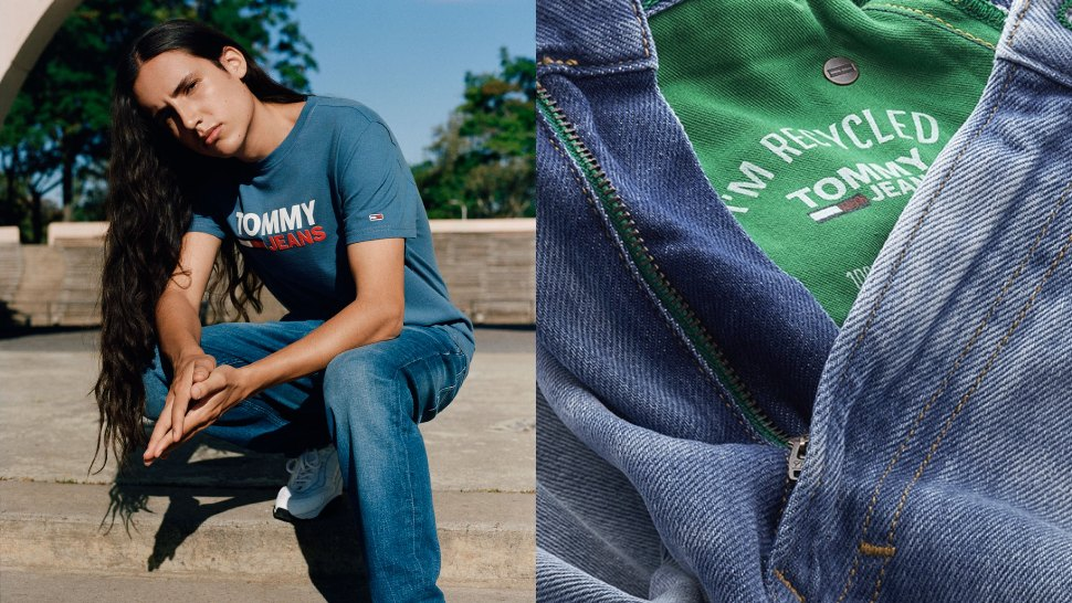The Latest Tommy Hilfiger Collection Uses 100% Recycled Denim