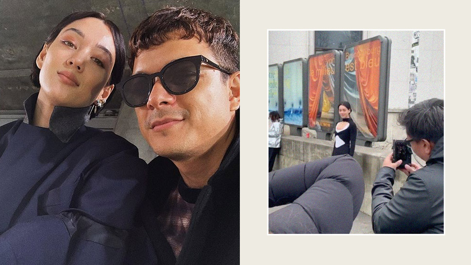 "Jericho Rosales Became His Wife Kim Jones' ""Assistant"" at Paris Fashion Week"