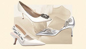 These Kitten Heels Are Worth The Splurge For Your Wedding Day