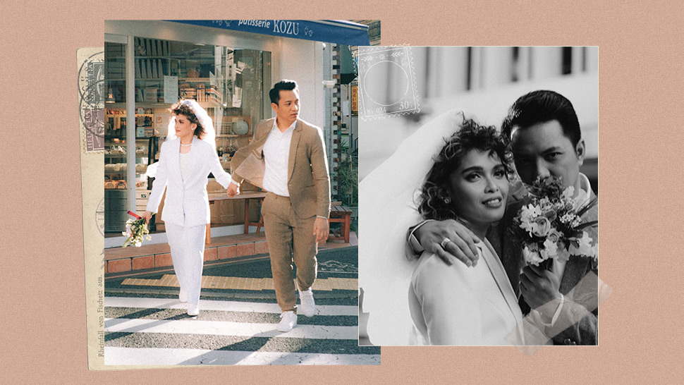 KZ Tandingan and TJ Monterde's Prenup Shoot is Like a '90s Film