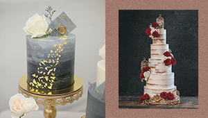 12 Beautiful Cake Designs To Choose From For Your Wedding