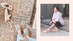 The Exact Pink Sneakers Jinkee Pacquiao And Heart Evangelista Both Have
