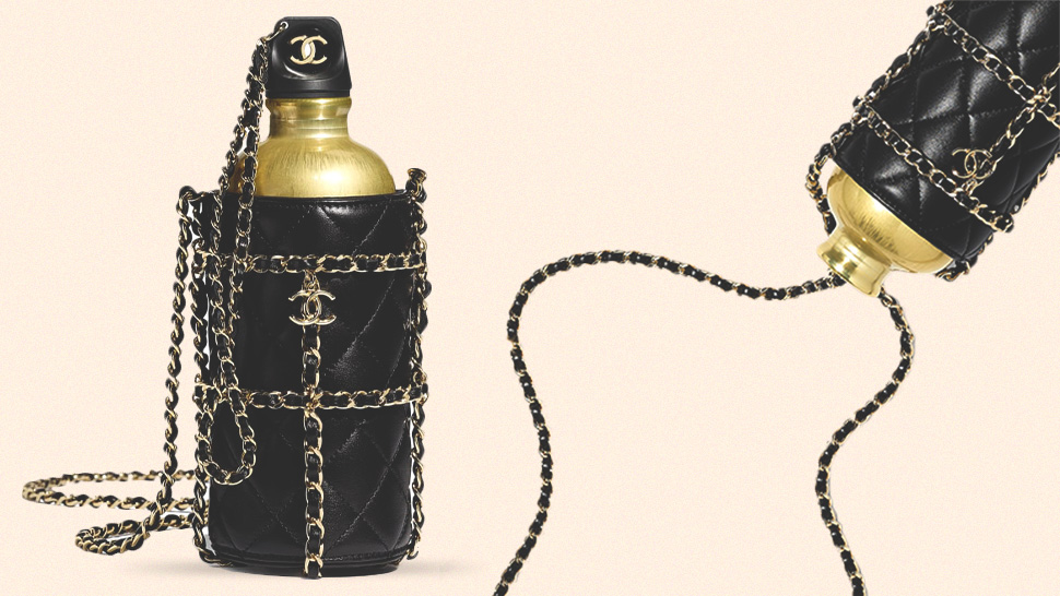 You Won't Believe How Much This Luxury Water Bottle from Chanel Costs