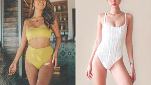 10 Form-flattering One-piece Swimsuits For Your Next Beach Trip
