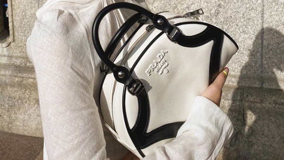 The Prada Bowling Bag Of The 2000s Is Back And Better Than Ever
