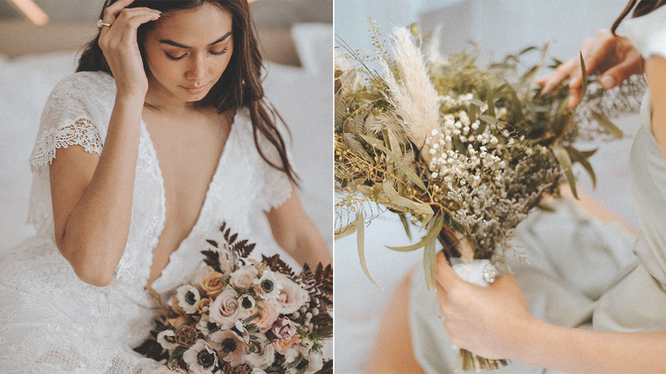 12 Non-boring Wedding Bouquets For Your Walk Down The Aisle