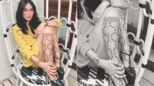 Would You Buy Heart Evangelista's P7000 Knee-high Socks?