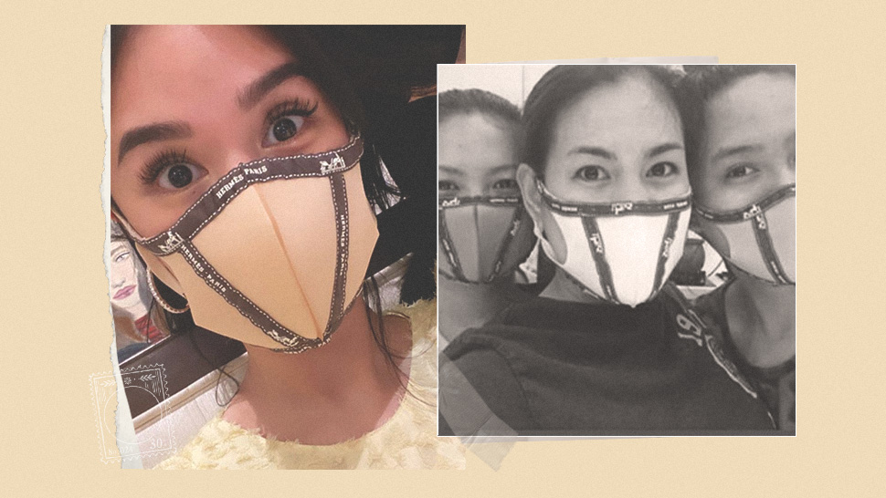 People Are Making Diy Face Masks Inspired By Heart Evangelista