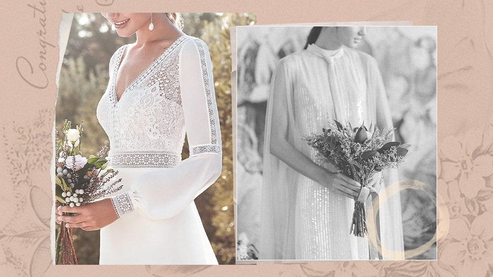 14 Gorgeous Wedding Gowns With Sleeves That You'll Love For Your Big Day