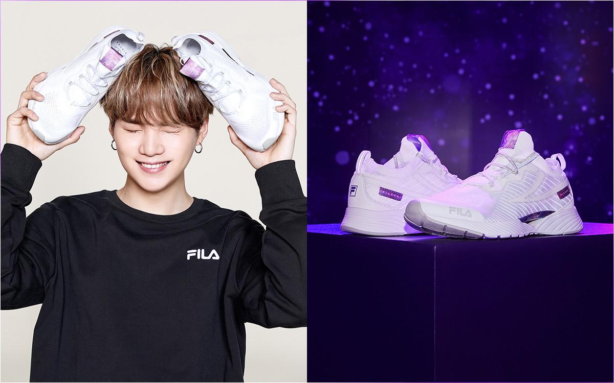 Bts X Fila Sneaker Collab