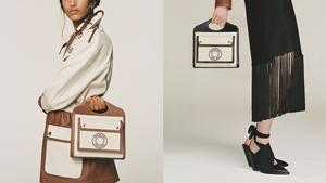 Burberry Releases A Chic Canvas Mail Bag And We're In Love