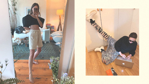 You Have To Follow This Ig That Posts Work-from-home Ootds