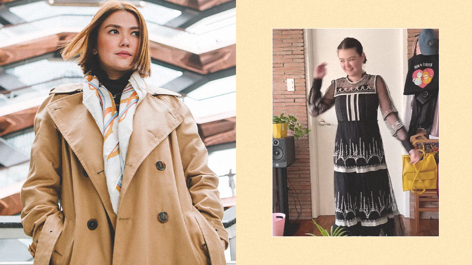 Angelica Panganiban's OOTDs at Home Are So Extra and We Want More