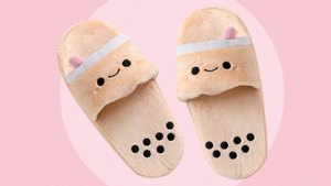 These Adorable Milk Tea Slippers Will Give You Another Reason To Stay Home