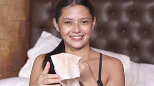 Bianca Umali Has A Genius Way Of Removing Her Makeup