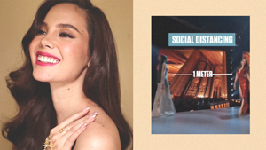 Catriona Gray Has The Best Tutorial On How To Protect Yourself From Covid-19