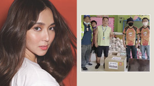 Kathryn Bernardo Has Been Low-key Helping Frontliners Amid Covid-19 Crisis