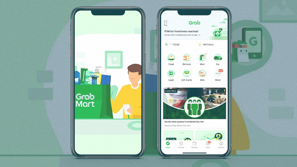 Grab Now Lets You Shop For Grocery Items Online