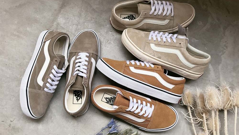 These Nude-Toned Vans Sneakers Are Inspired by Milk Tea