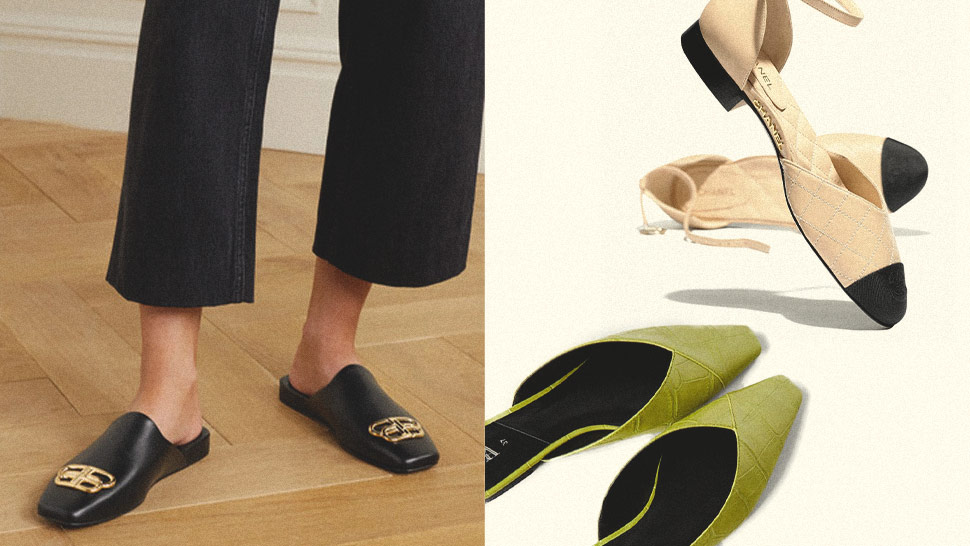 10 Stylish Pairs Of Flats To Keep You Going All Day