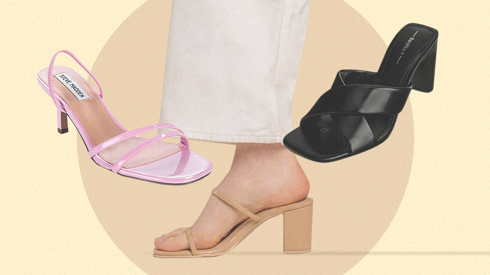 10 Minimalist Heeled Slides You Can Wear With Any Outfit