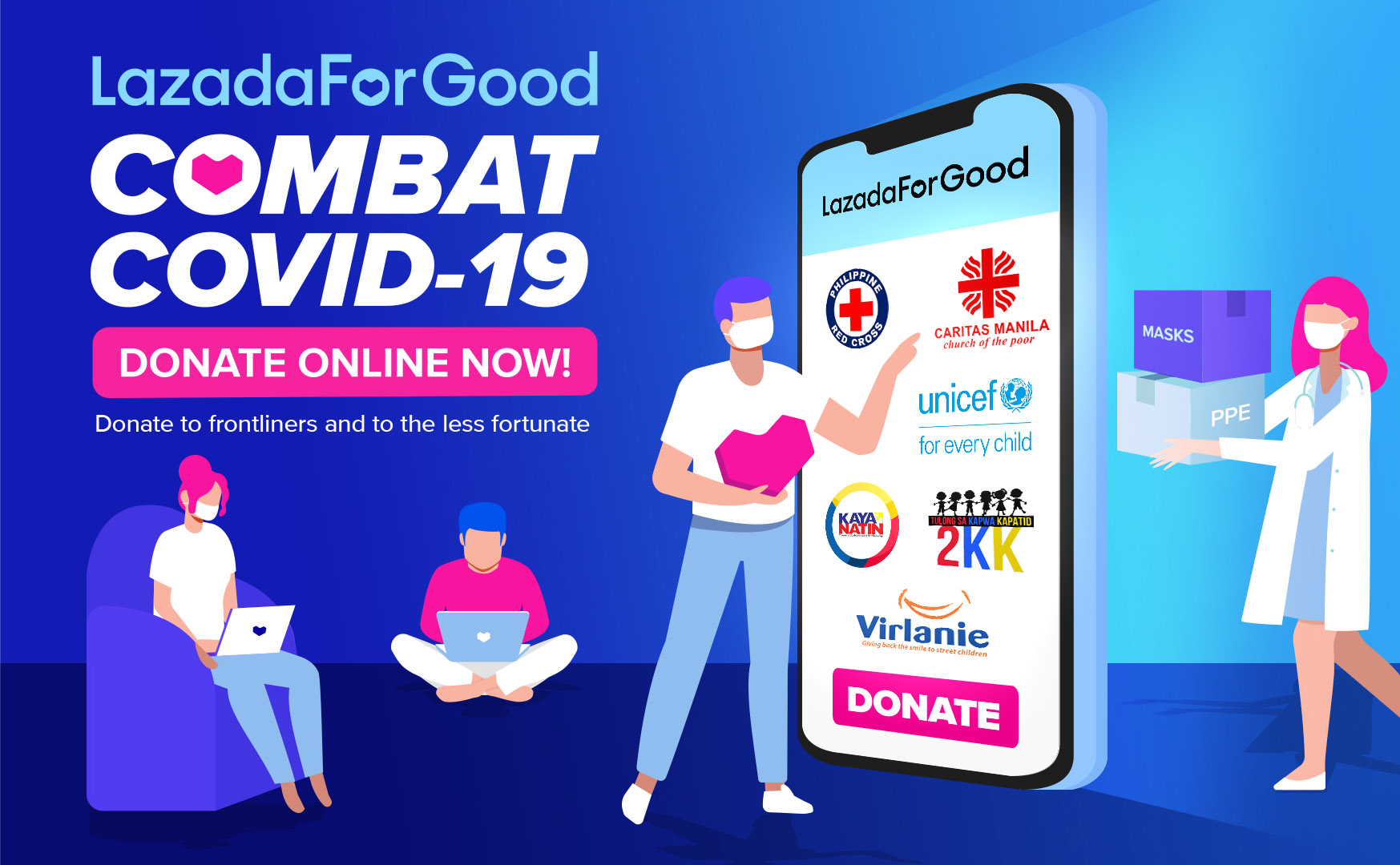 How To Donate To Covid 19 Relief Efforts Via Lazada And