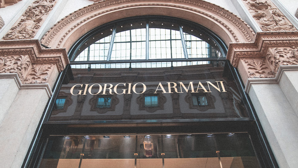 Armani To Manufacture Single-use Medical Protective Gear For Frontliners