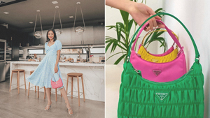 Are Ruched Prada Nylon Bags Back In Style Again?