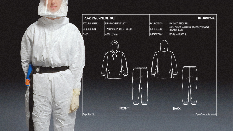 Here's Why 2-piece Protective Suits Are Being Made For Female Medical Frontliners
