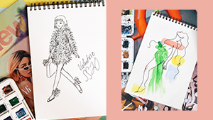 5 Easy Tutorials To Follow If You Want To Learn Basic Fashion Illustration