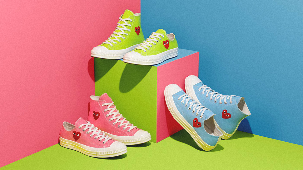 Converse's Chuck 70 Sneakers Are Getting A Playful And Vibrant Revamp