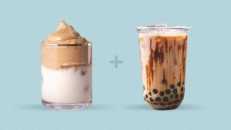 Fyi, Dalgona Milk Tea Exists And Here's How To Make It