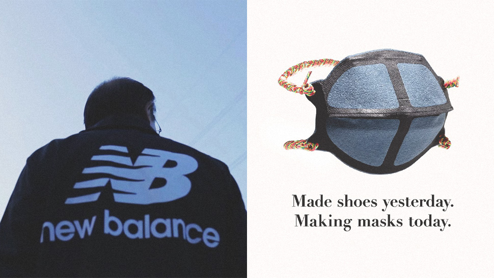 New Balance Will Be Making Masks for Hospital Frontliners