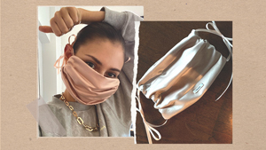 This Clever Hack Lets You Diy A Face Mask Using Your Designer Bag Or Shoe Dustbags