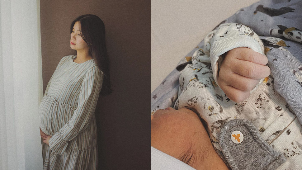 Tricia Gosingtian Gives Birth to a Baby Boy
