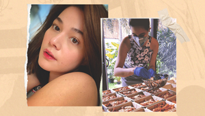 Bea Alonzo Cooked Meals For Covid-19 Frontliners That Came With A Special Note