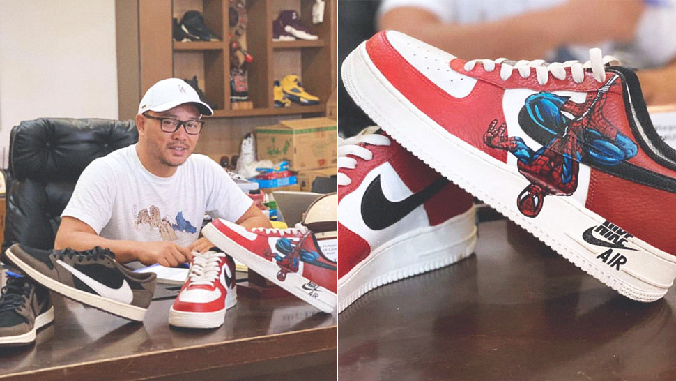 Mayor Kit Nieto Auctions Off His Sneaker Collection to Help Cainta