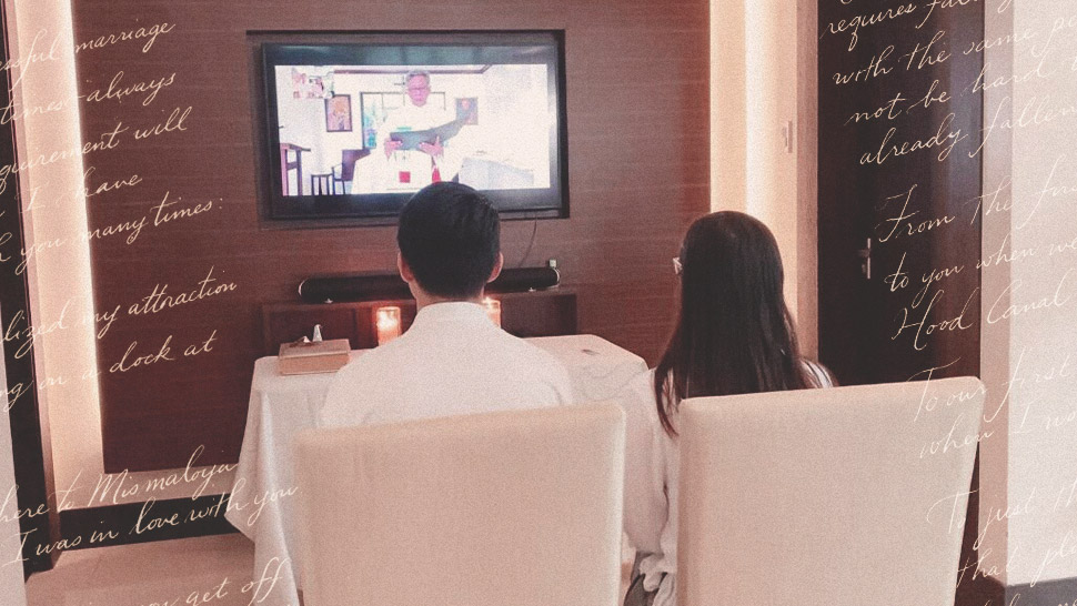 This Couple Opted For A Virtual Blessing After Their Wedding Was Postponed Twice
