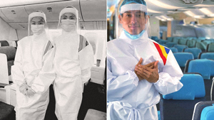 You Have To See The Ppe Suits This Designer Made For Pal Cabin Crew