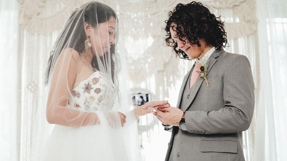 This Couple Held Their Wedding Through A Zoom Video Call And It Was Beautiful