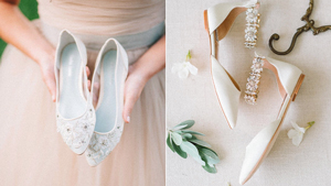 13 Beautiful Flat Shoes You Can Wear On Your Wedding Day