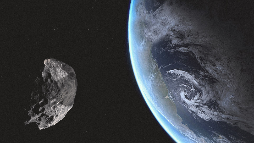 Asteroid 'wearing Face Mask' To Fly By Earth This Week