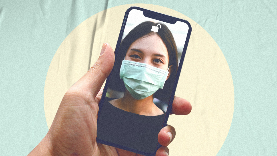 Unlocking Your Iphone When You're Wearing A Face Mask Will Soon Be Easier