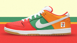 Calling All Sneakerheads: Nike's Sb Dunk Just Got A 7-eleven Makeover