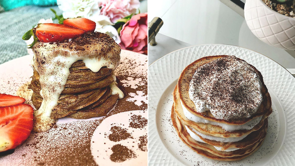 This Tiramisu Pancake Recipe Will Make Your Breakfasts So Extra
