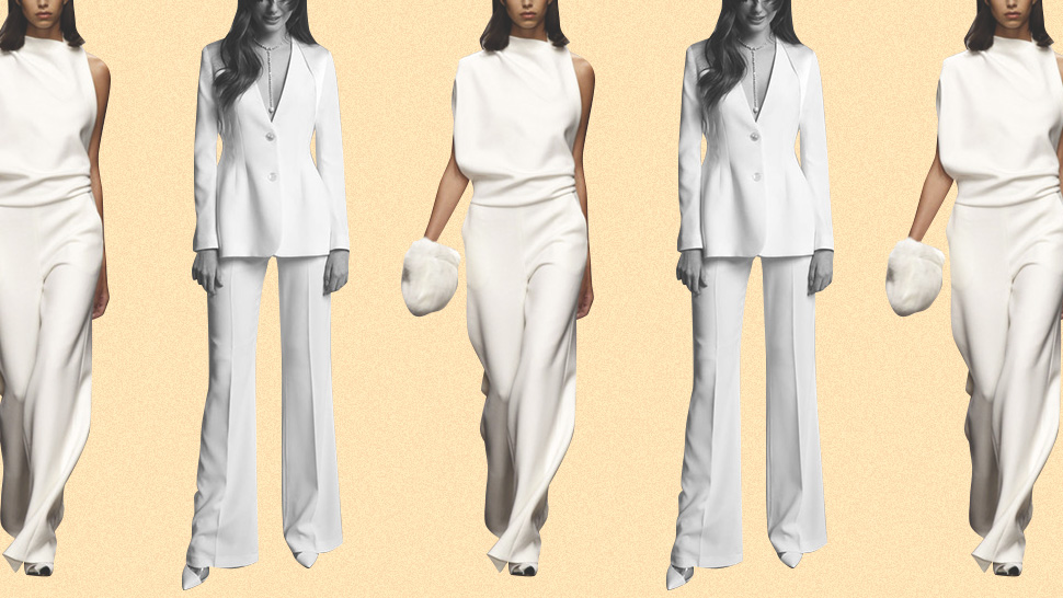 12 Bridal Looks With Pants If You Don't Want To Wear A Gown
