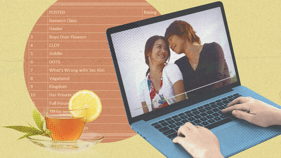 This K-drama Fan Has A Spreadsheet To Track Shows She's Watched